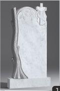 Белый мрамор №11