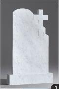 Белый мрамор №12