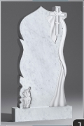 Белый мрамор №14