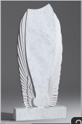Белый мрамор №20