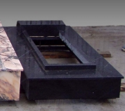 Гранит черный с установкой h-15